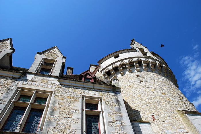 замок в Миланде (Chateau des Milandes). 84247