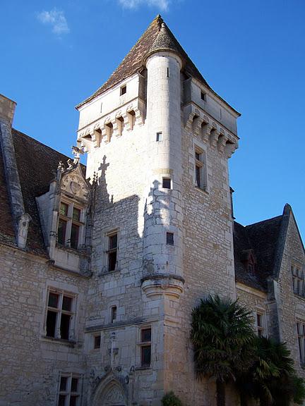 замок в Миланде (Chateau des Milandes). 66762