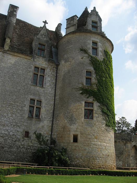 замок в Миланде (Chateau des Milandes). 80249