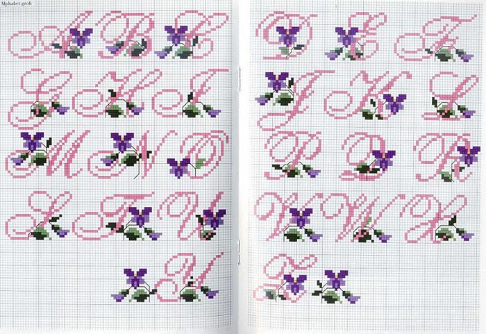 Часть 31 - ГЕЙША-схема вышивка