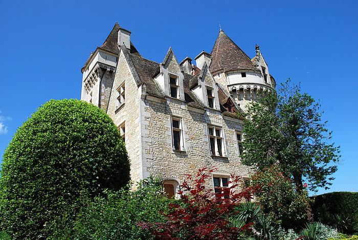 замок в Миланде (Chateau des Milandes). 61009