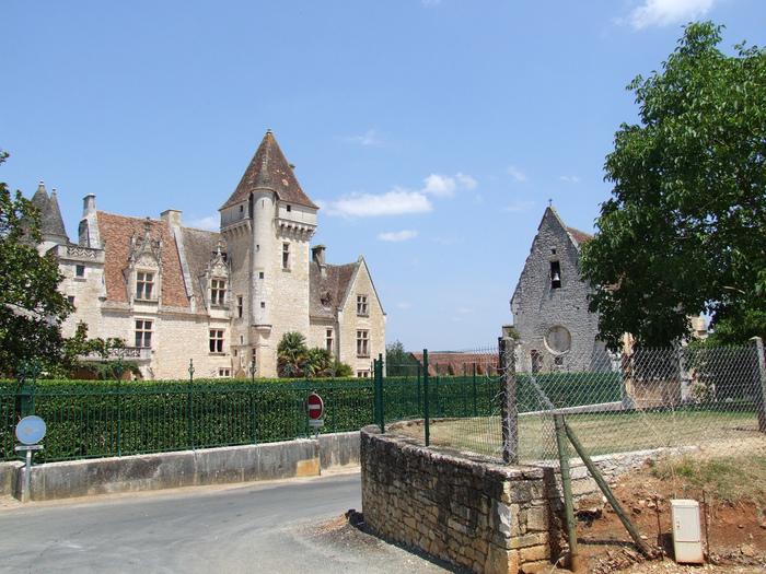 замок в Миланде (Chateau des Milandes). 71465