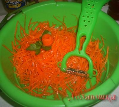 Домашняя корейская морковка