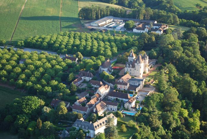 замок в Миланде (Chateau des Milandes). 52394