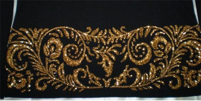 Виды Узоров Вышивки Бисером Горловины Блузки