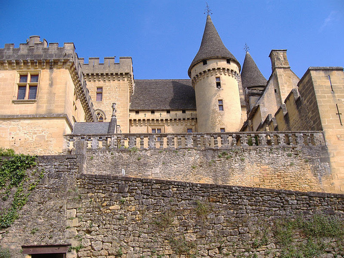 Замок Бейнак (Chateau de Beynac) 11290