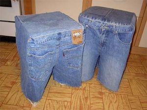 Что можно сделать из ненужных джинс.