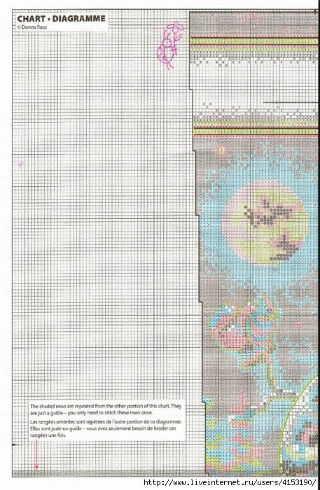 Dimensions 08839 Snowman & Friends Stocking (1) (457x700, 352Kb)