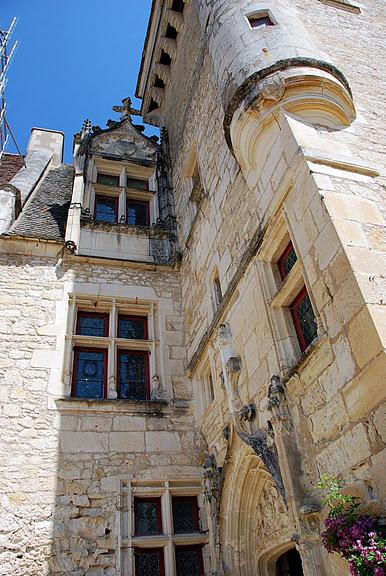 замок в Миланде (Chateau des Milandes). 94764