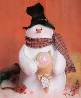 Как сшить снеговика своими руками выкройка