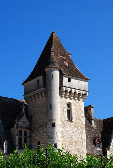 замок в Миланде (Chateau des Milandes). 25354