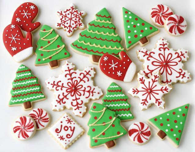 Новогоднее печенье - лучшие рецепты с фото на Новый год 2014…