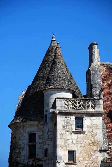 замок в Миланде (Chateau des Milandes). 59437