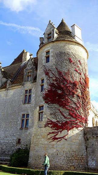замок в Миланде (Chateau des Milandes). 95444