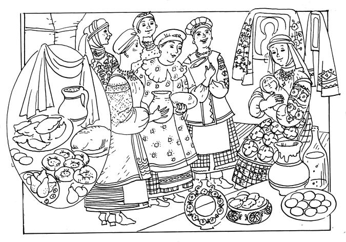 Обряд рождения ребенка на Руси
