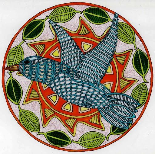 mandala oiseau (512x510, 152Kb)