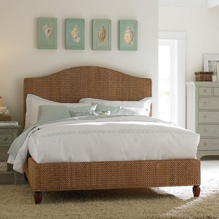 Удачное оформление спален увеличивающее пространство