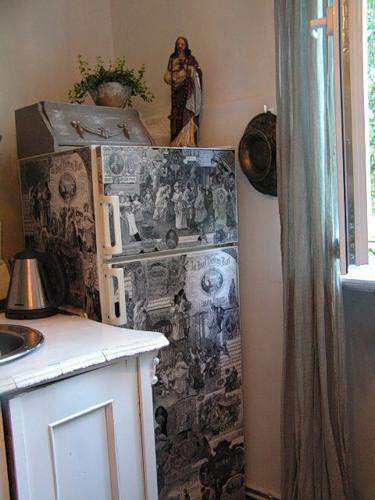 Образцы Декупажа Холодильника - фото 7