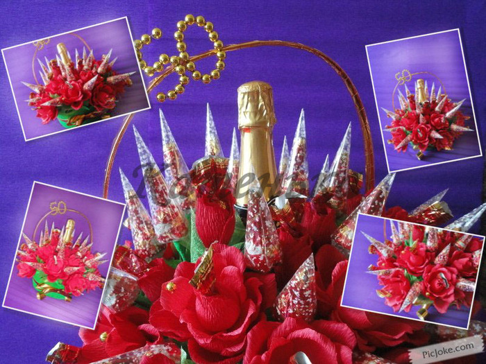 Красные розы с шампанским (700x525, 181Kb)