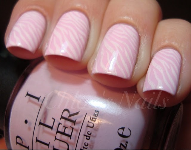 Дизайн бледно-розовые ногти