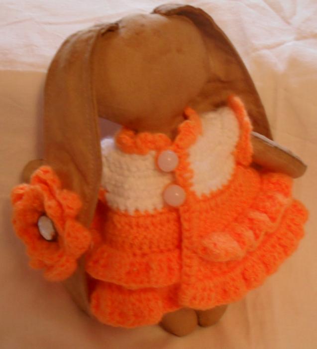 цветок зая в оранжевом (637x700, 380Kb)