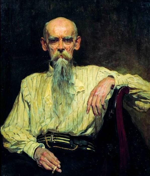 портрет Волкова кисти Маковского (597x700, 59Kb)