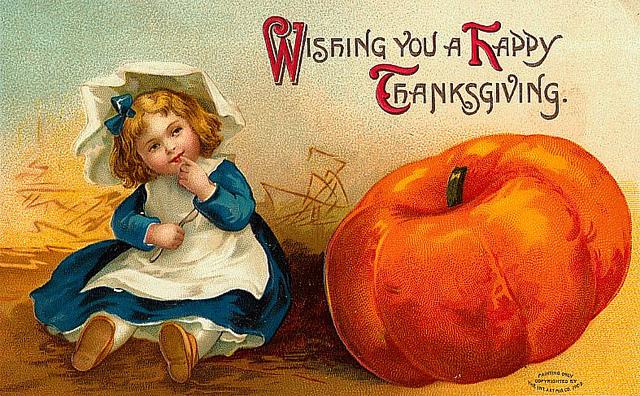 Открытки к дню благодарения в сша