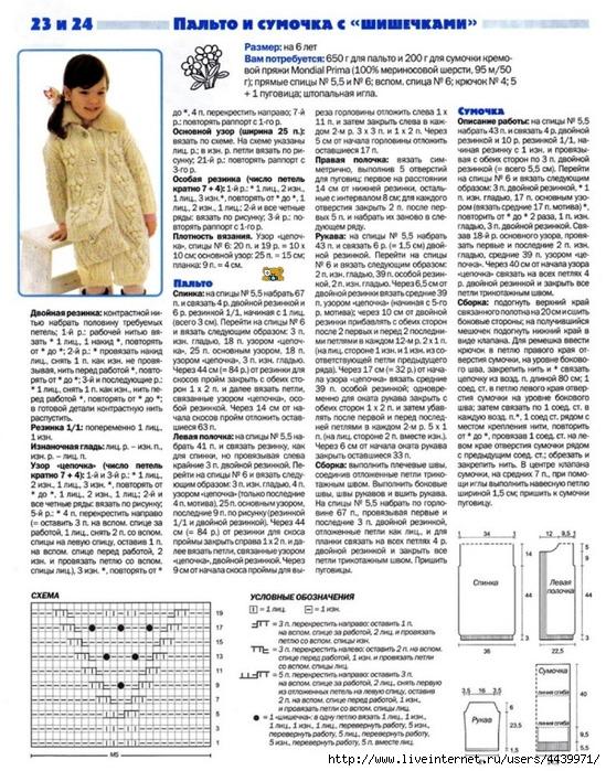 Схема вязания кардигана для девочки подростка6