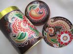 Превью декоративная банка и магнит, техника point to point, шоколад с перцем, акрил, Shraddha, 8 (700x525, 311Kb)