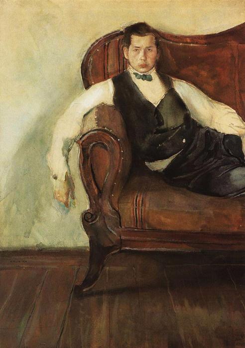 Автопортрет. 1898 (492x700, 94Kb)