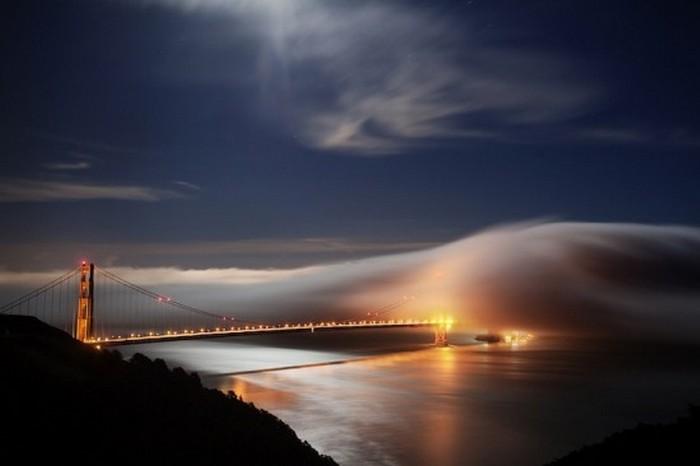 Туманный Сан-Франциско, фото Terence Chang