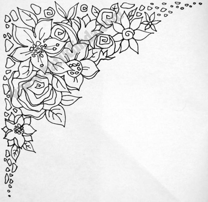 Рисунки и шаблоны на ткани