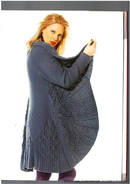 Рубрики: вязание спицами/