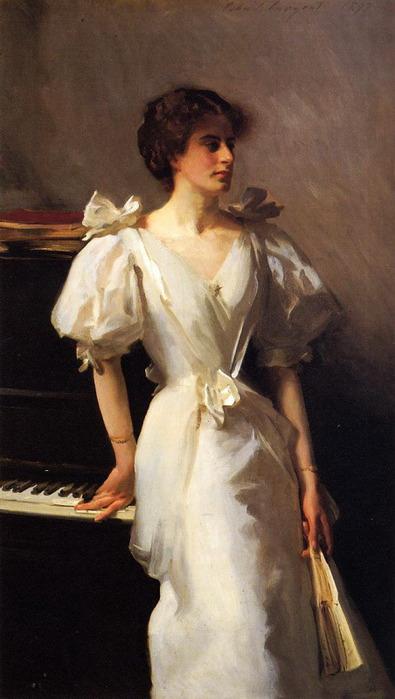 В женском портрете, на мой взгляд, он сумел достичь наибольшей...
