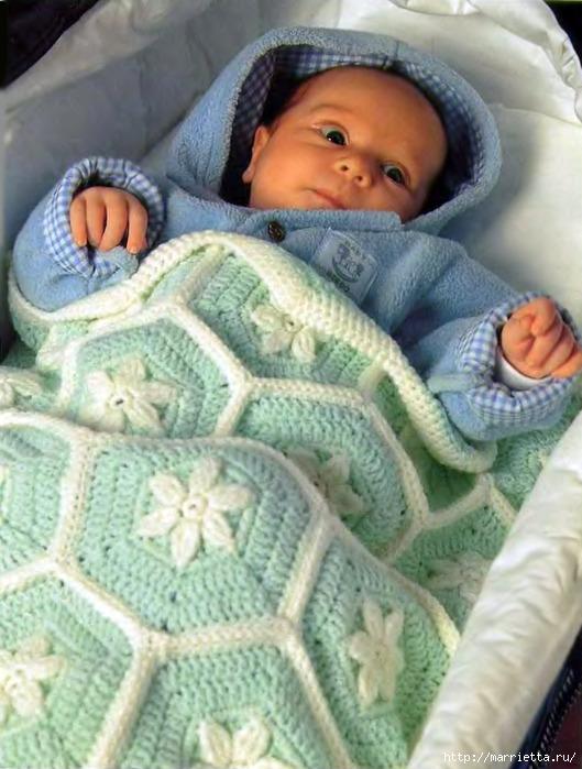 Вязанное Одеяло