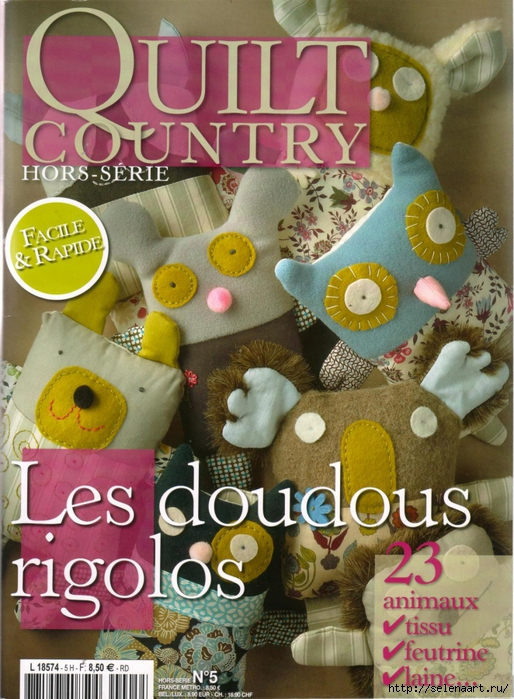 4278666_Quilt_Country_Les_Doudous_Rigolos_01 (514x700, 340Kb)
