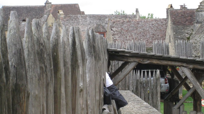 Замок Бейнак (Chateau de Beynac) 86880