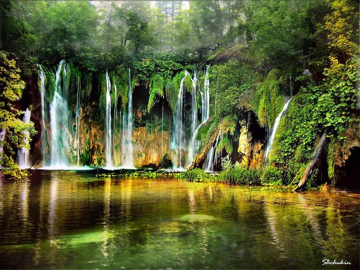 Лучшие национальные парки мира - Плитвицкие озера