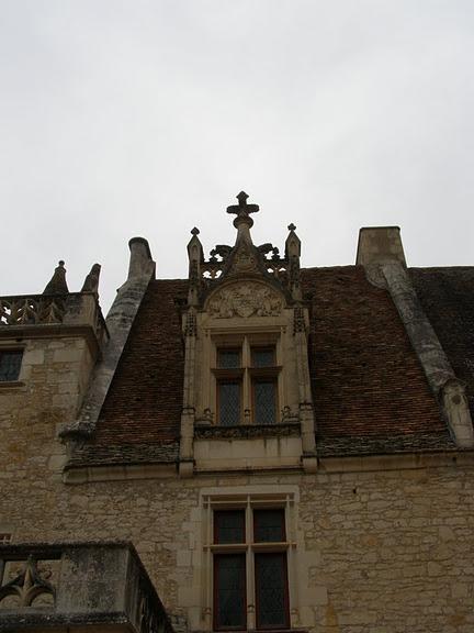 замок в Миланде (Chateau des Milandes). 52820