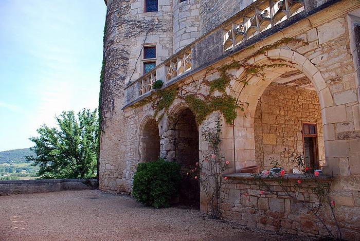 замок в Миланде (Chateau des Milandes). 40609