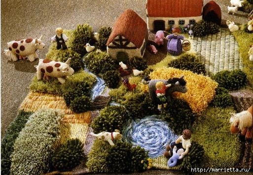 Настольная ферма своими руками
