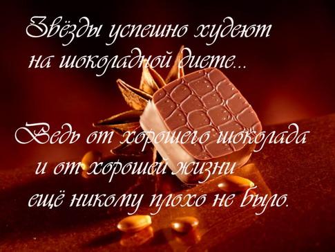Цитата что может быть лучше шоколада