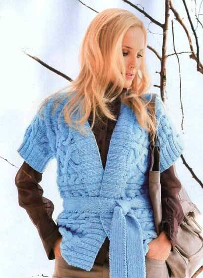 Схема детской юбки вязание на спицах