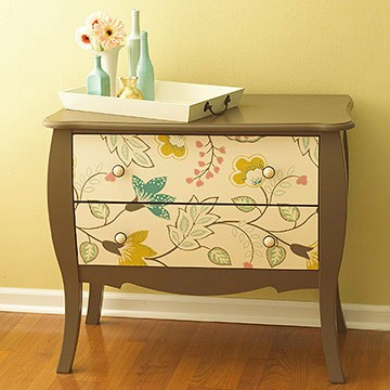 декор старой мебели
