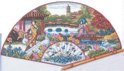 "<веер ""японский сад"". схема"
