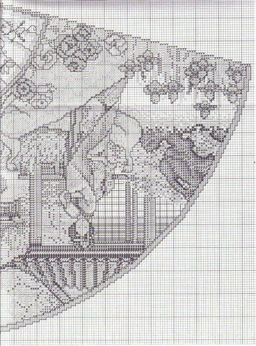 японский сад веер схема1