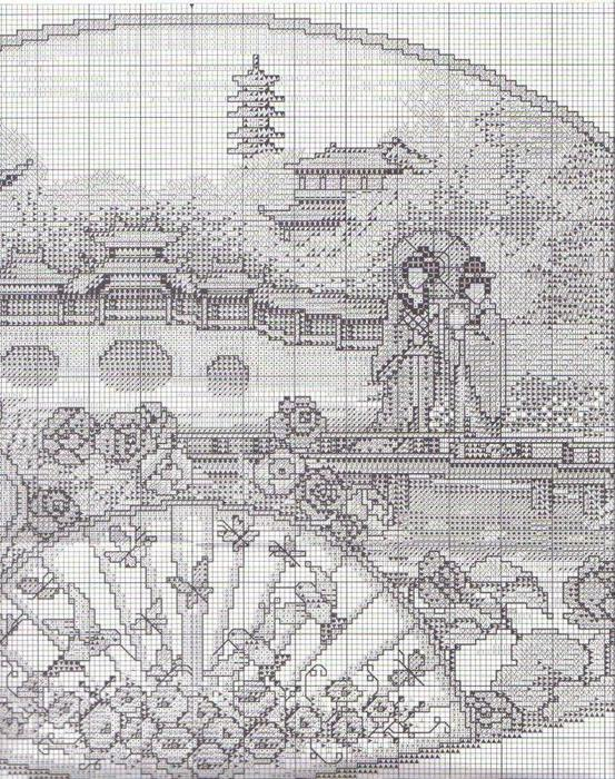 японский сад веер схема5