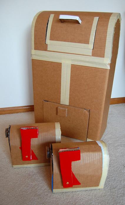 Как сделать поделку из картона на ютубе
