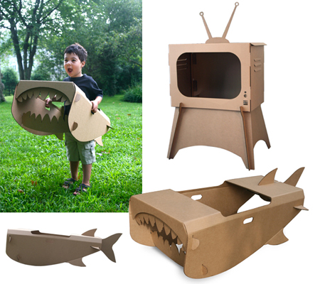 Поделка телевизор из коробок