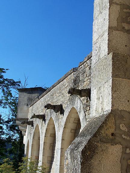 замок в Миланде (Chateau des Milandes). 44125
